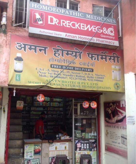 Aman Homoeo Pharmacy