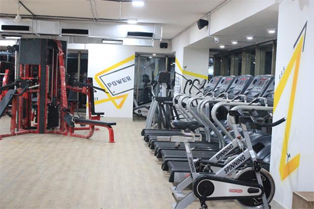 K 3 Oxygen Gym