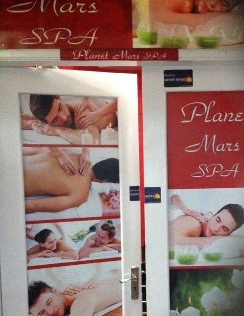 Planet Mars Spa