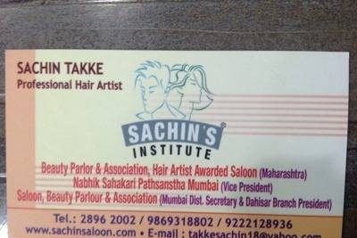 Sachins Saloon & Institute