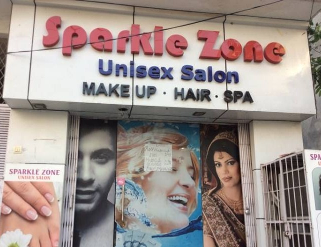 Sparkle Zone Unisex saloon