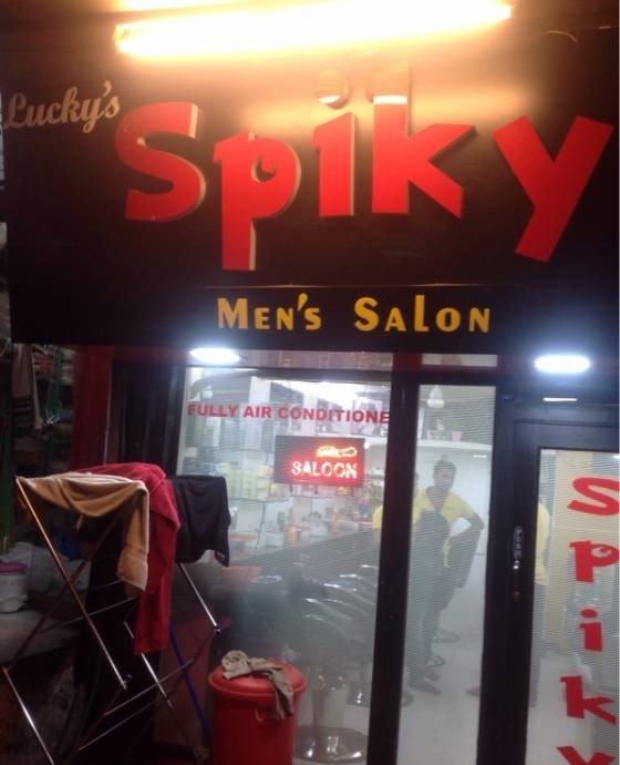 The Spiky Men Salon