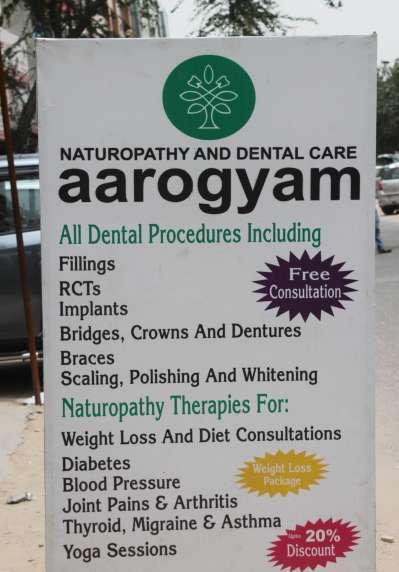 Aarogyam Naturopathy and Dental Care